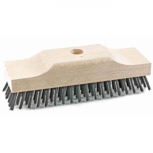 Sorex Schrubber Holz Stahldraht extra hoher Sattel mit Stielloch 20cm