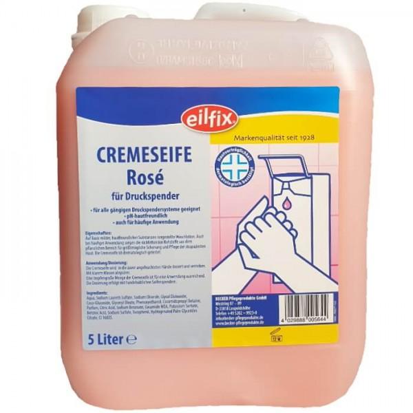 Eilfix Cremeseife Rosé 5l
