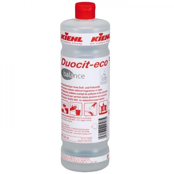 Kiehl Duocit-Eco Balance Sanitärreiniger ohne Duft- und Farbstoffe clendo shop luca