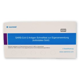 SARS-CoV-2 Antigen Schnelltest für Laien   Coronatest   5 Stück