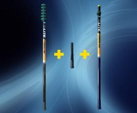 Unger nLite HiMod Carbon Teleskopstange + Erweiterungsstange