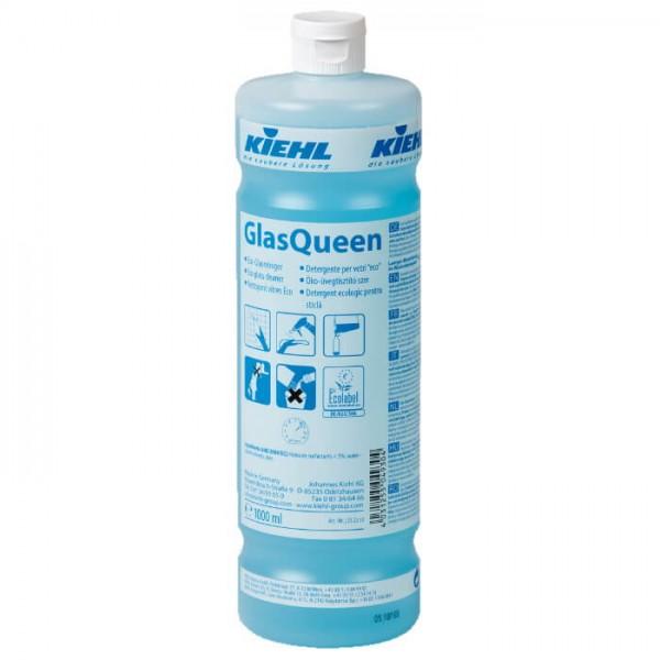 Kiehl GlasQueen 1l glasreiniger reinigung clean sauber clendo shop luca fenster acrylglas