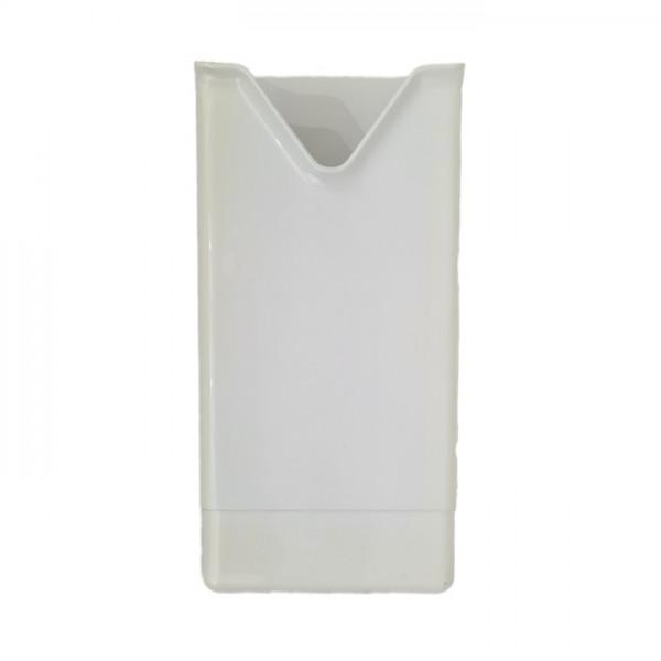 Hygienebeutelspender 130x290x55mm Papier-Beutel Weiß