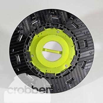 "Crobber Set Igel-Treibteller 14""   Y1403   Gesamtpaket"