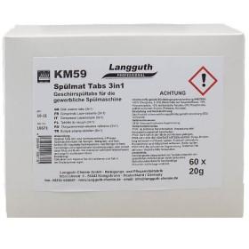 Langguth KM59 Spülmat Tabs 3in1 60Stk.