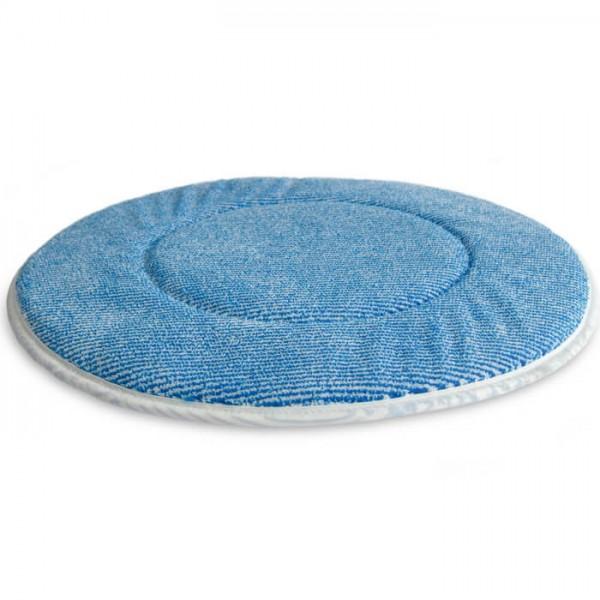 "Weber Mikrofaser Pad 14"" Blaue Borsten"