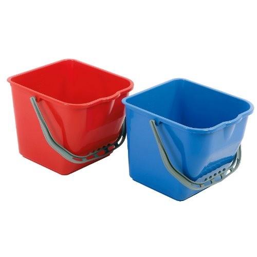 Floorstar Eimer E 17 Rot & Blau