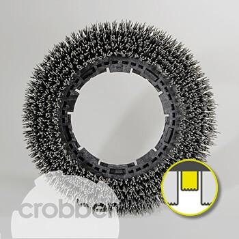 """Crobber Schleifkornbürste 14""""   G140-500"""