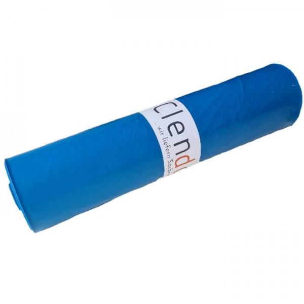 Clendo LDPE Müllsäcke 120l Blau