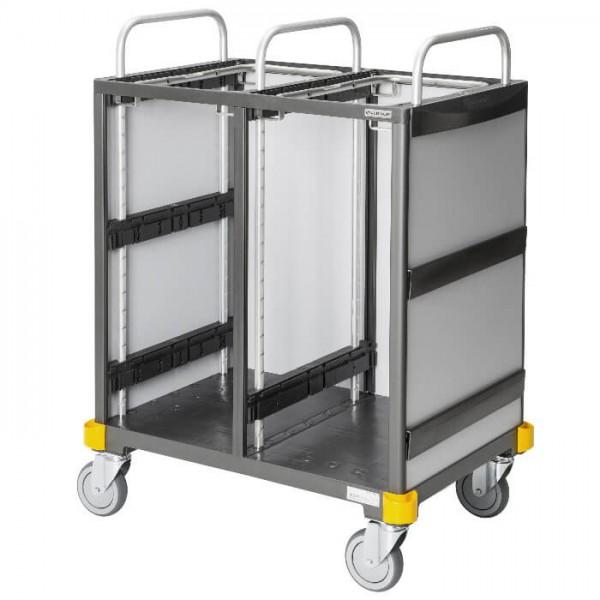 Vermop Equipe Wäschetransportwagen 2 x 120l